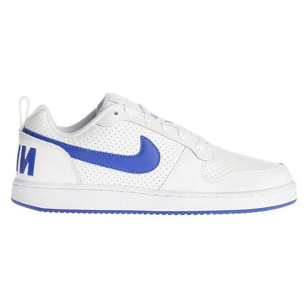 ab947af449f Nike Court Borough Low Blanco Azul Royal